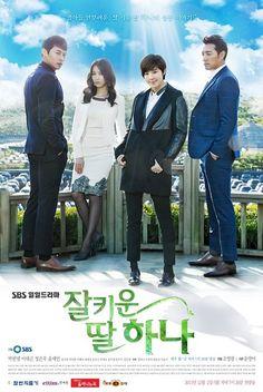 잘 키운 딸 하나 / A Well Grown Daughter, Hana Chinese Title: 好好長大的女兒荷娜 Also Known as: Well Brought Up Daughter, Hana Genre: Family, Romance Episodes: 120 Broadcast network: SBS Broadcast period: 2013-Dec-02