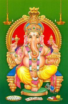 Foto: Ganesh Images, Ganesha Pictures, Lord Krishna Images, Shiva Hindu, Shiva Art, Hindu Deities, Hinduism, Lord Shiva Painting, Ganesha Painting