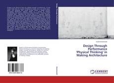 """If there is one thing we have not ustilised enough in architecture, it is the human body. Borrowing key techniques from the world of performance, such as Physical Thinking, """"Occupying Momentum"""" attempts to analyse a process for making a design that is analogous"""