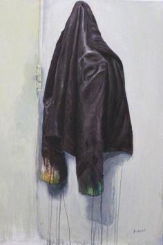 La Campera De Cuero - http://redarte.com.ar/2013/09/la-campera-de-cuero/ #RedArte #Art #Arte #Pintura