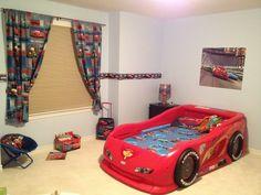 Disney Cars Themed Bedroom | Disney cars bedroom, Car bedroom and Room