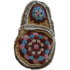 Vintage Native  American Indian beaded coin purse