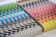 50  CHOOSE YOUR COLOR  Striped paper straws with by InkLineDesign, $8.00