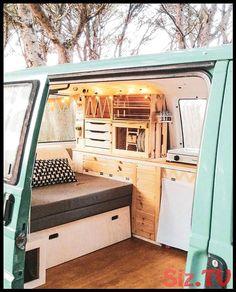 from nafradavan if you want to get inspired Living Van Life Use to get featured T4 Camper Interior Ideas, Wolkswagen Van, Converted Vans, Kombi Home, Van Home, Camper Van Conversion Diy, Van Conversion Interior, Van Living, Mini Camper
