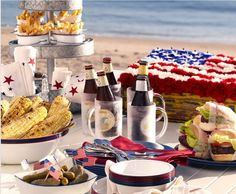 4th of July Picnic @ the beach!    #4thofjuly