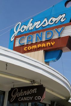 Johnson Candy Company established 1925 in Tacoma, WA -  by suswann, via Flickr