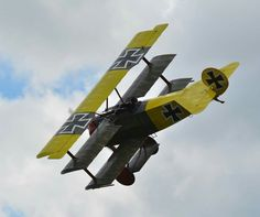 G.A.A.M. Fokker Triplane powered by a 80 Le Rhone rotary engine. Paul Dougherty is the pilot