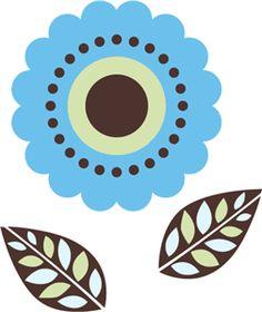 Silhouette Design Store - View Design #3182: Flower