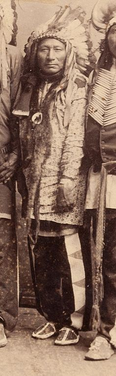 Oglala Chief Long Wolf (Shunkmanitu Hanska)