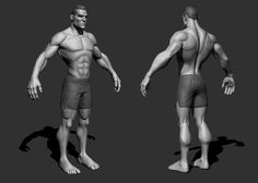 Stylized Male, Stoyan Dimitrov on ArtStation at https://artstation.com/artwork/stylized-male
