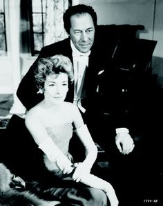 Kay Kendall and Rex Harrison - The Reluctant Debutante