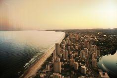 one day, i WILL visit Gold Coast, Queensland, Australia Gold Coast Australia, Queensland Australia, Australian Plants, Great Barrier Reef, Holiday Destinations, Beautiful Beaches, Places To See, Scenery, Around The Worlds