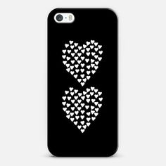 iPhone 5s case with hearts #lbd #accessorize #hearts