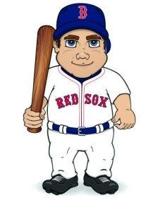 Boston Red Sox Dancing Musical Baseball Player