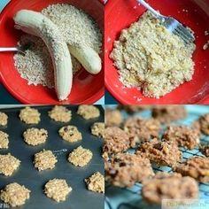 Отличное диетическое печенье всего за несколько минут! Хрустящее, вкусное, не очень калорийное и с низким содержанием жира. Рекомендуем!