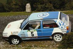 "germancarsblog: "" Volkswagen Golf GTI rally car """