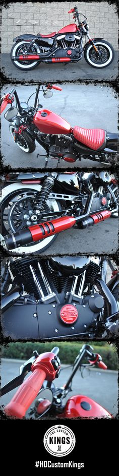 Riverside Harley-Davidson proves it's easy to turn a stock Forty-Eight into a fast, fun, and easy to handle bobber. Can you dig it? | Harley-Davidson #HDCustomKings