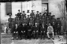 Voluntarios de Cruz Roja. Ildefonso San Agustín. Huesca - 1920