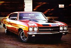 1970 Chevrolet Chevelle SS396 Sports Coupe