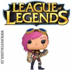 Funko Funko Pop! Games League of Legends VI geek suisse shop noel