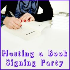 Here's a great new concept for writers - have a book signing party at your house, or a guest's house, just like an Avon or Mary Kay party. It really works. Make money on demand with your writing.