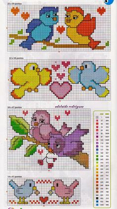 This Pin was discovered by Dür Cross Stitch For Kids, Cross Stitch Bird, Cross Stitch Animals, Cross Stitch Flowers, Cross Stitching, Cross Stitch Embroidery, Funny Cross Stitch Patterns, Cross Stitch Charts, Cross Stitch Designs