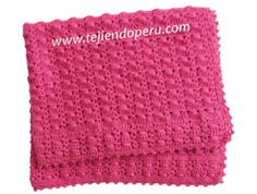 Tutorial: manta o cobija con motitas tejida a crochet!