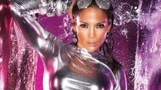 Gorgeous Jennifer Lopez Bright Silver Outfit - HD Wallpapers - Free Wallpapers - Desktop Backgrounds