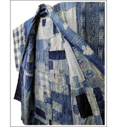 The Japanese Boro Yogi is a sleeping garment used like a blanket for ...
