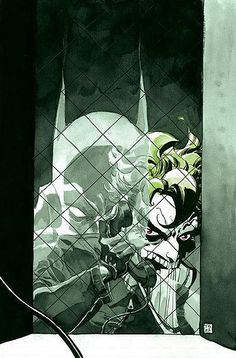 Batman, Joker by Tim Sale