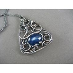 Teen Witch Pendant ❤ liked on Polyvore