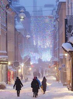 Gamla Brogatan - Stockholm, Sweden   by Ola Ericson
