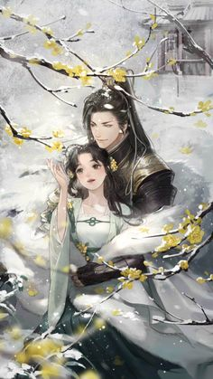 Excruciating Deep Love with You - He said I was the most despicable woman he ever met… In order to love him, I lost my family, and - Chinese Artwork, Chinese Drawings, Cute Couple Art, Anime Love Couple, Anime Couples Manga, Cute Anime Couples, Anime Art Girl, Manga Art, Anime Fantasy