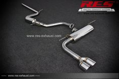 Performance Parts RES Racing For Audi A3 Performance Exhaust Systems Exhaust Pipe Exhaust Muffler