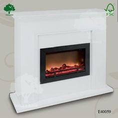electric fireplace | Stay Warm 40-Inch Electric Fireplace Heater ...