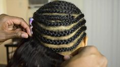 HOW TO DO A SEW IN WEAVE  NO CAP BLACK WOMEN HAIR TRANSFORMATION VIDEO!
