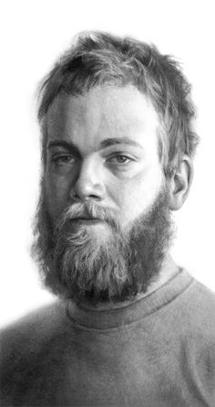 Christian Fagerlund (charcoal drawing)