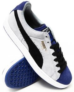 Suede Stripes and Blocks Sneakers by Puma