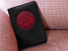 Oberon Design Wildflower Leather Icon Journal.  http://oberondesign.com/journal-covers/icon-journals/wildflower-icon-journal.html