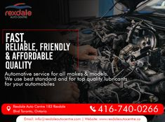 At Rexdale Auto Centre, We Provide Our Clients with Specialized Professionals Automotive Service for All Makes & Models. For Services & More Info Contact: Call: 416-740-0266 Visit: www.rexdaleautocentre.ca #RexdaleAutoCentre #AutoMaintenanceServices #TireServices #FlatTireRepair #AutoRepairServices #Wheel #AutoRepair #Car #OntarioCA #UplandCA #Ontario #Service #Upland #Alignment #Maintenance Car Repair Service, Flat Tire, Ontario, Centre, Models, How To Make, Templates, Model, Girl Models