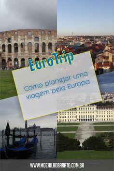 Planejamento de viagem para Europa