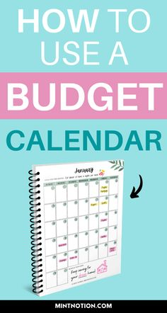 A budget calendar looks just like a regular calendar, but it's used for the purpose of tracking your bills, due dates, paychecks, and other important dates in your life. It's a helpful way to get an overview of how much money will flow in and out each month. Includes a free monthly budget printable and free budget calendar printable to help you organize your fiannces. Budgeting worksheet to help you save money.