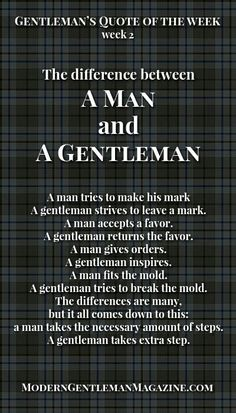 Where can I get me a gentleman around here?