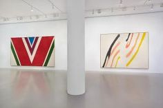 Installation view, Helen Frankenthaler, Morris Louis, Kenneth Noland and Frank…