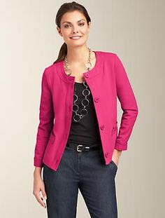Another jacket option $149 from Talbots