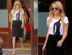 Kate Hudson In Osman & RVN – Out In New York City