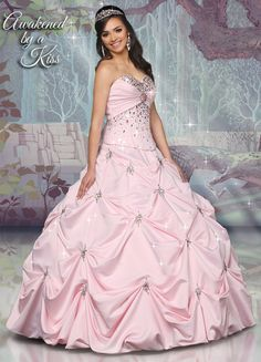 Disney Royal Ball Quinceanera Dress Sleeping Beauty Style 41063