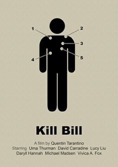 Kill Bill - simplified movie poster | Flickr: Intercambio de fotos
