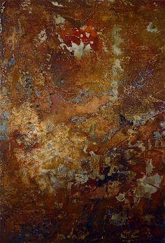 Rust Art-might make an interesting rug!