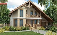 2 Storey House Design, Two Storey House, House Front, My House, Porch Roof Design, Classic House Design, Japanese Garden Design, Attic Design, Dream Decor